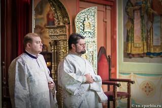Литургия в Иверском монастыре 104