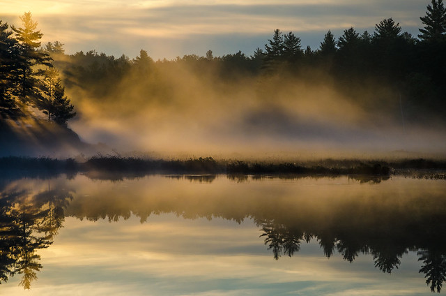 Copper Lake Sunrise