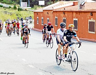 vuelta cicloturista a gran canaria  con SERAFIN ZUBIBI