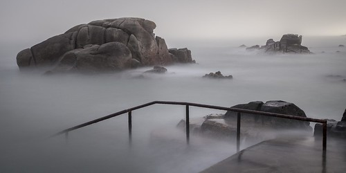 ireland dublin mist seascape tower water swimming sunrise foot james long exposure south ngc joyce canon5d 40 milky forty sandycove 40footsandycove