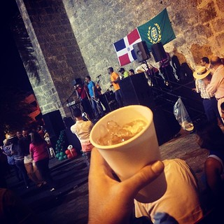 A little late night salsa dancing & Brugal Aniejo out of paper cup. #DominicanRepublic #misfitgram #weekendatmisfit