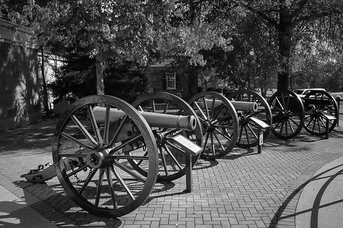 Chickamauga National Battlefield - Cannons