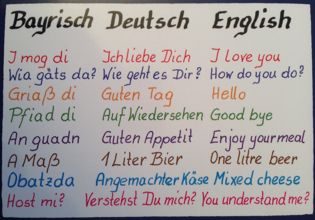 I love you auf deutsch