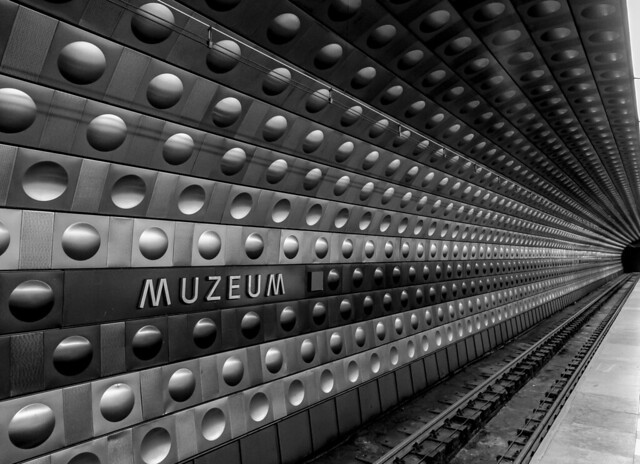 Czech Republic - Prague - Subway metro station