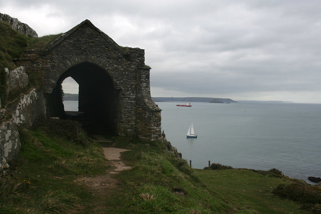 Grotto on Rame Head