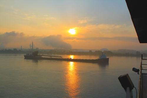 laker lakerboat sunrise kayeebarker interlake stclair asc americansteamshipcompany walterjmccarthyjr weather humid muggy