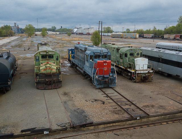 Arkansas Railway Museum  Pine Bluff, Arkansas