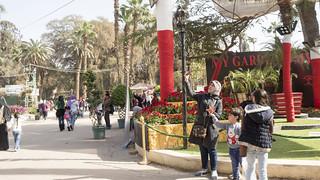 A mother Selfie at Egypt's Spring Flowers Fair 2018 | by Kodak Agfa