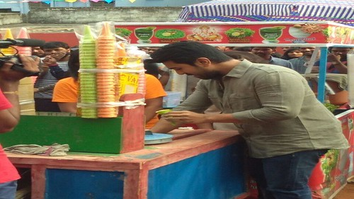 Charan sells IceCream for good cause | by southcineworldfilmybuzz