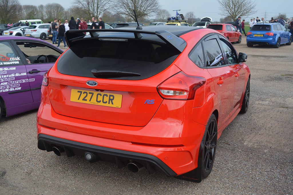 Ford Focus RS Race Red Edition