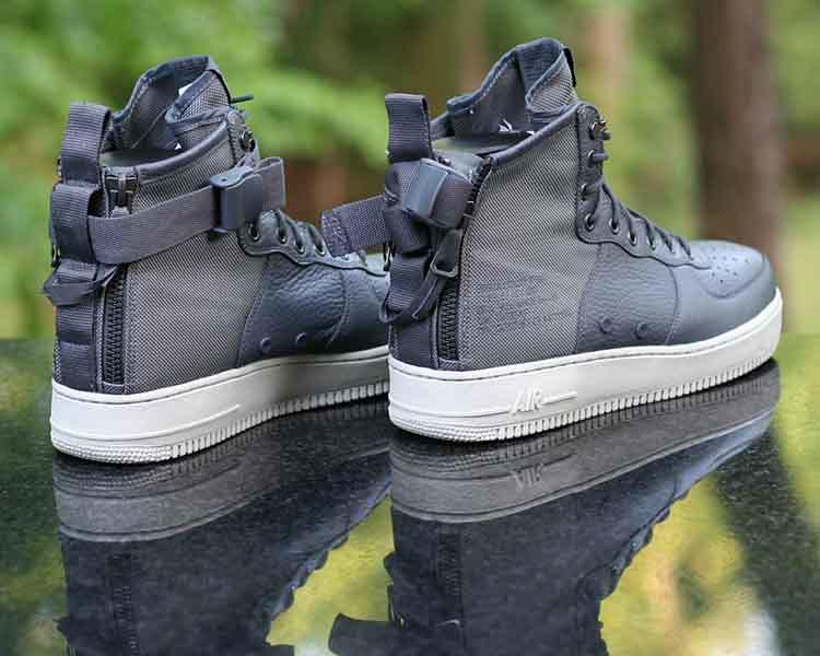 check out ef433 9238b ... Nike SF Air Force 1 Mid SF AF1 Dark Grey Light Bone 917753-004 Men s