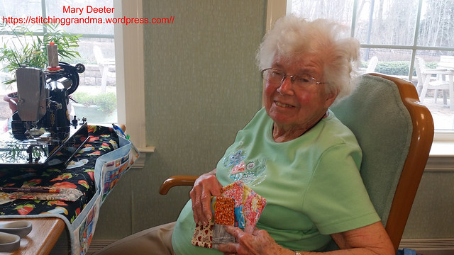 Sewing with Seniors
