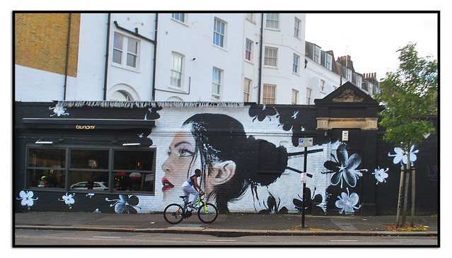 LONDON STREET ART by OLIVIER ROUBIEU