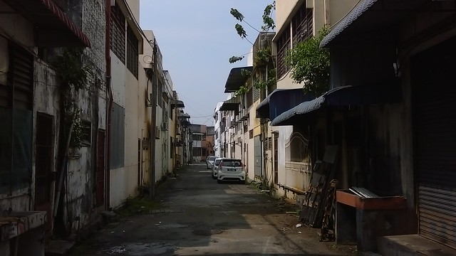 Around Butterworth, Malaysia.