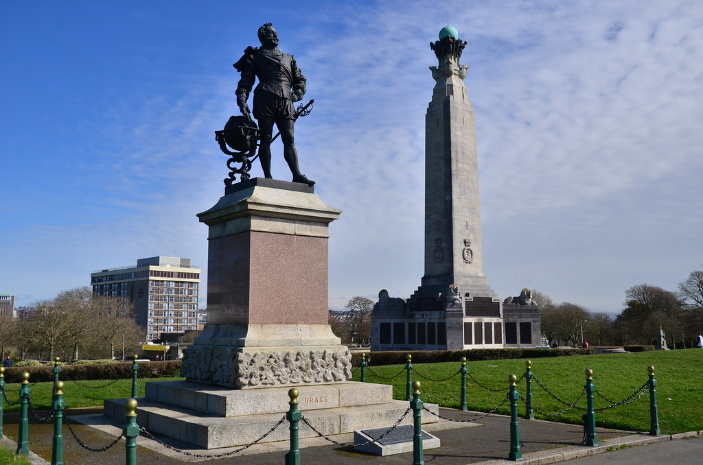 Statue of Sir Francis Drake, Plymouth Hoe   The statue of Si…   Flickr