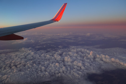 aerialphotography airplane wing clouds sunset horizon dusk centralvalley california