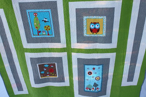 Kelsey's New Wave Owl Quilt | by Everyday Fray