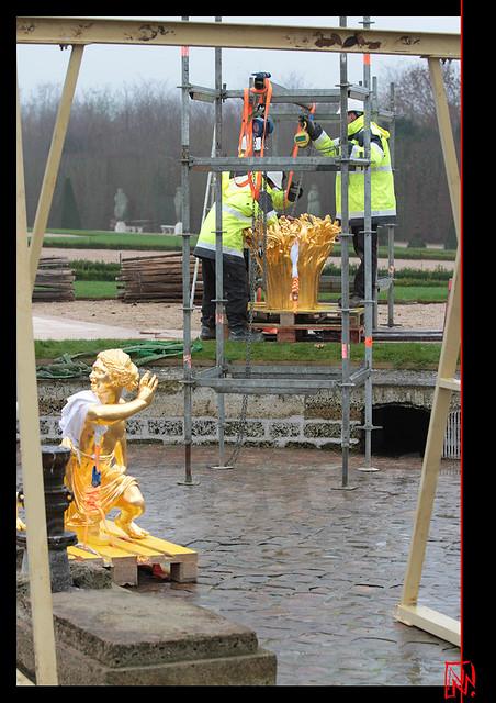 Versailles : Du beau travail de restauration