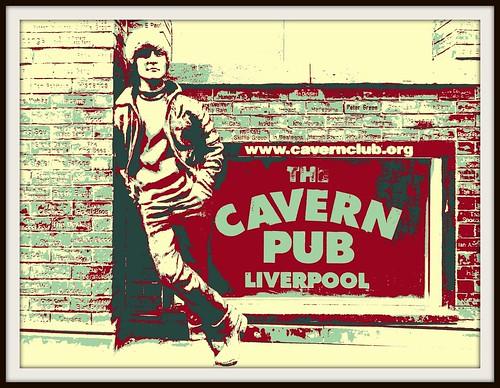 John Lennon Statue, Liverpool Cavern.
