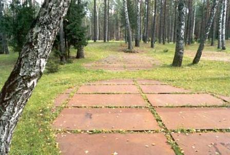 Fosas en el bosque de Katyn