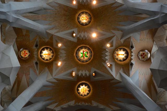 Inside the #SagradaFamilia