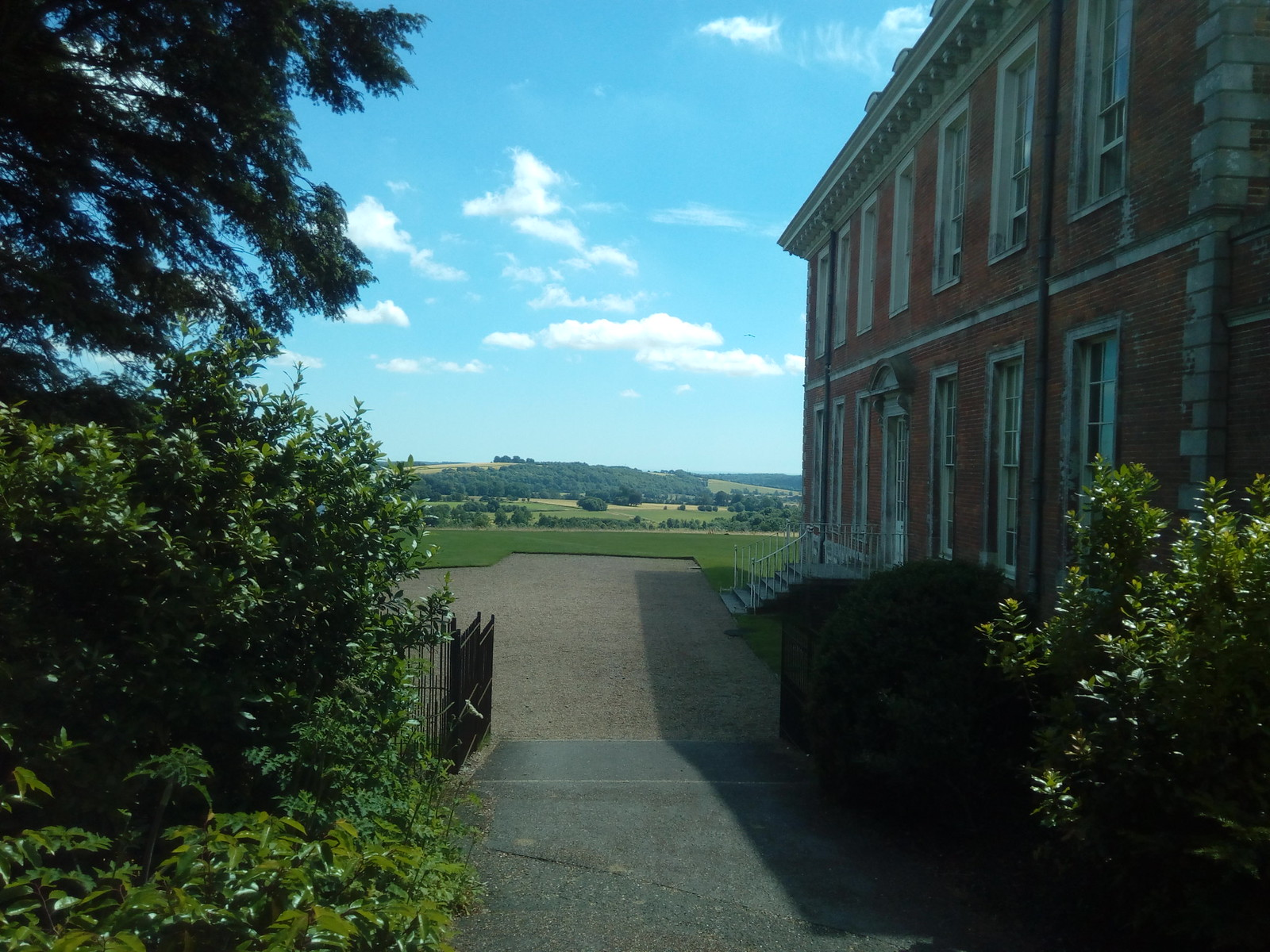 Uppark and view