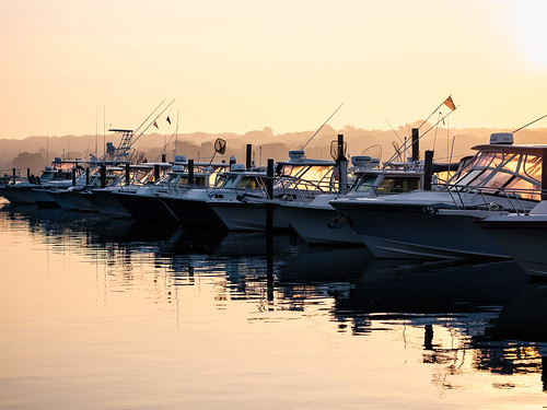 olympus epm2 sunrise niantic connecticut ct eastlyme boat marina water reflection 45mmf18 july 2016