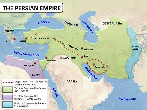 Persian Empire - Map