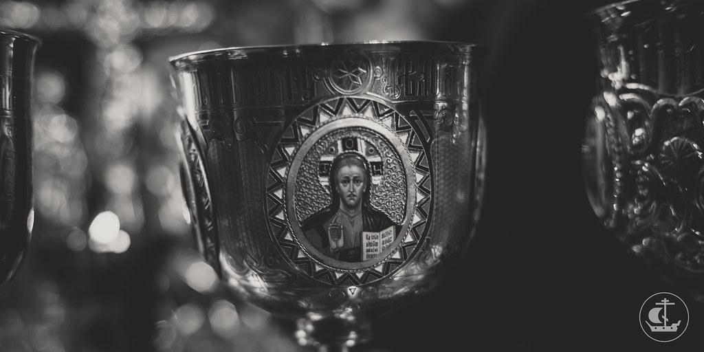 23 октября 2016, Литургия в день памяти прп. Амвросия Оптинского. День тезоименитства архиепископа Амвросия / 23 October 2016, Liturgy on the commemoration day of St Ambrose of Optina. Name Day of Archbishop Ambrose