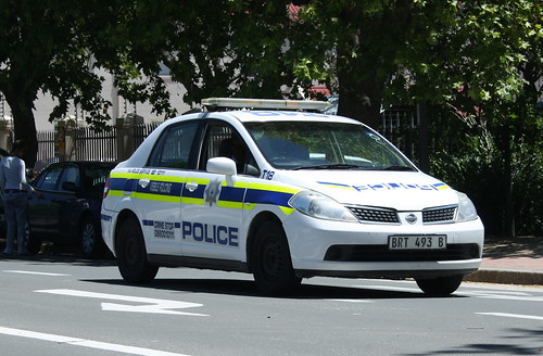 South African Police Nissan Tiida | by Asylumkid
