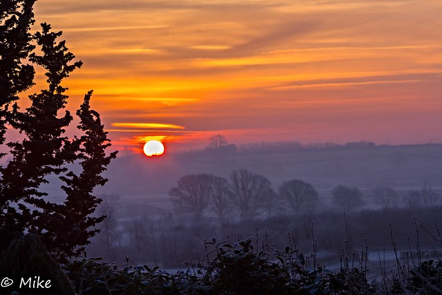 Three mornings in a row Somerset sunrise