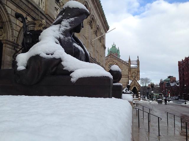 A Winter Walkin' Boston!