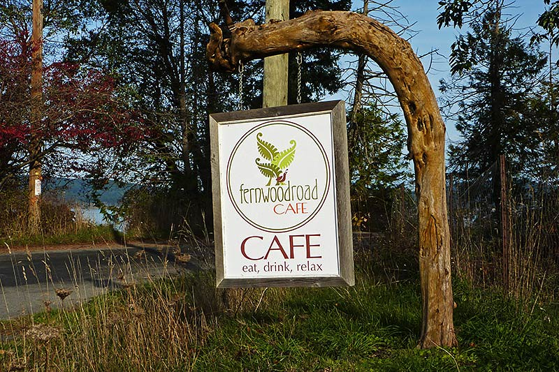 Fernwood Road Cafe, Fernwood, Saltspring Island, Gulf Islands, British Columbia