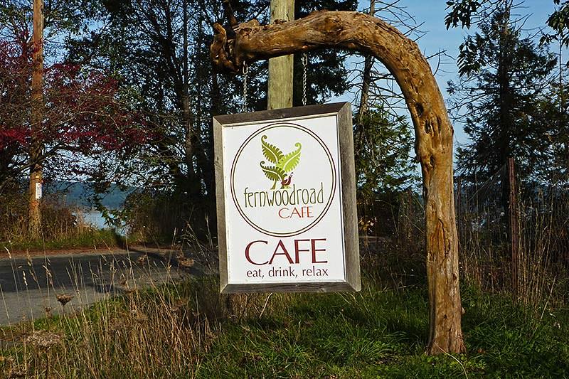 Fernwood Road Cafe, Fernwood, Saltspring Island, Gulf Islands, British Columbia