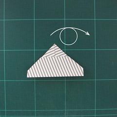 วิธีทำหรีดห้อยหน้าประตูสำหรับวันคริสต์มาส (Christmas wreath origami and papercraft) 012