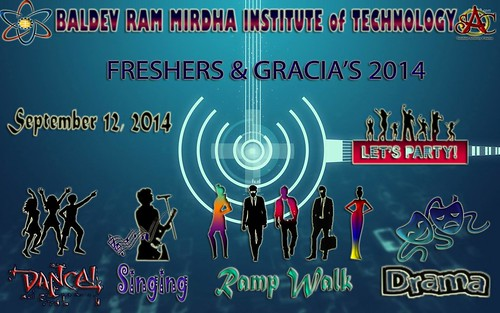 Fresher Party @BMIT | by bmitjaipur