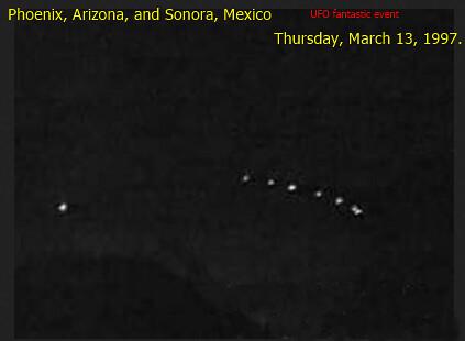 Phoenix Lights UFO