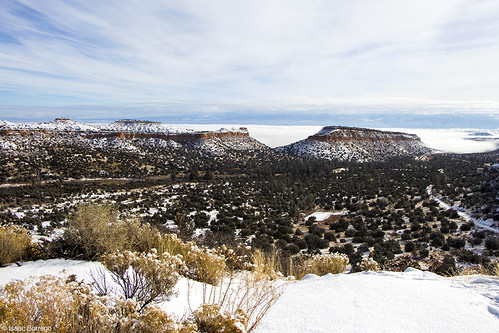 snow clouds sky mesas valley canyon mountains andersonoverlook losalamos newmexico canonrebelt4i winter unitedstates america usa cold