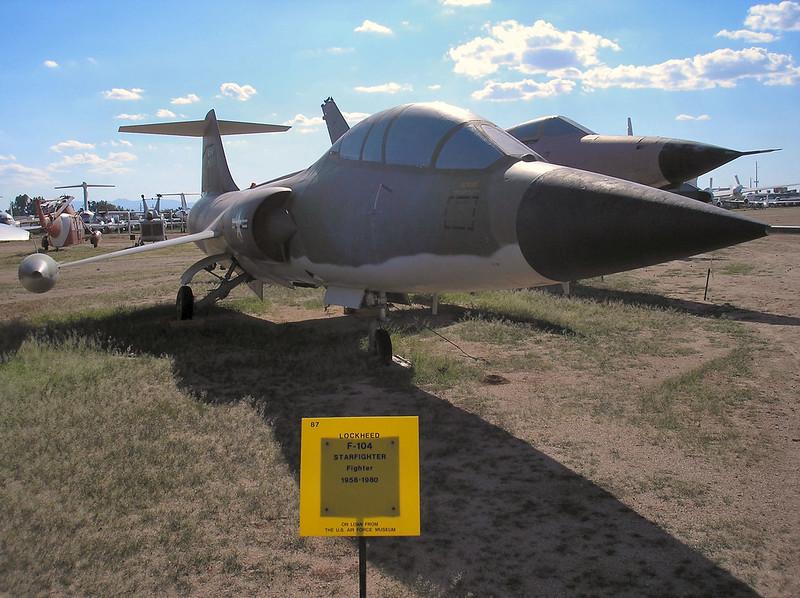 F-104 nejvíce Starfighter 2