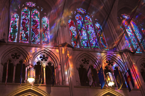 Sunbeams in the Washington National Cathedral | by ric_burger
