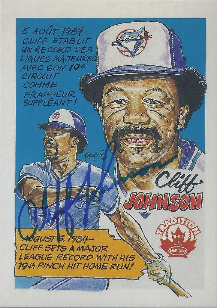 1992 Nabisco Tradition Cliff Johnson 2 Designated Hitt