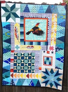 baby quilt for Atticus