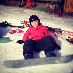 Oggi si prova lo #snowboard #sighinola #lario