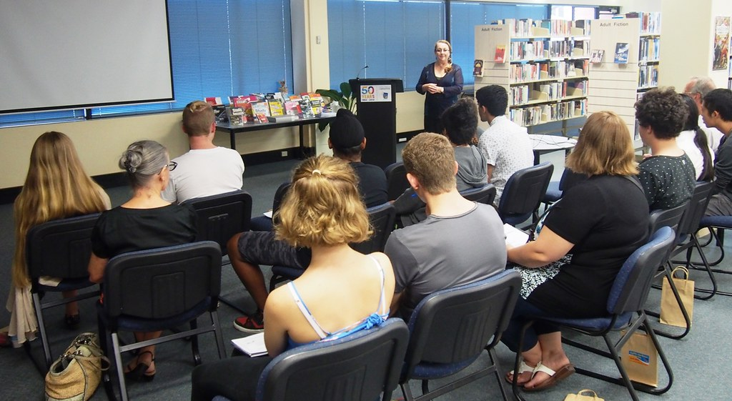 HSC Talk Business Studies | at Harry Bailey Memorial Library… | Flickr