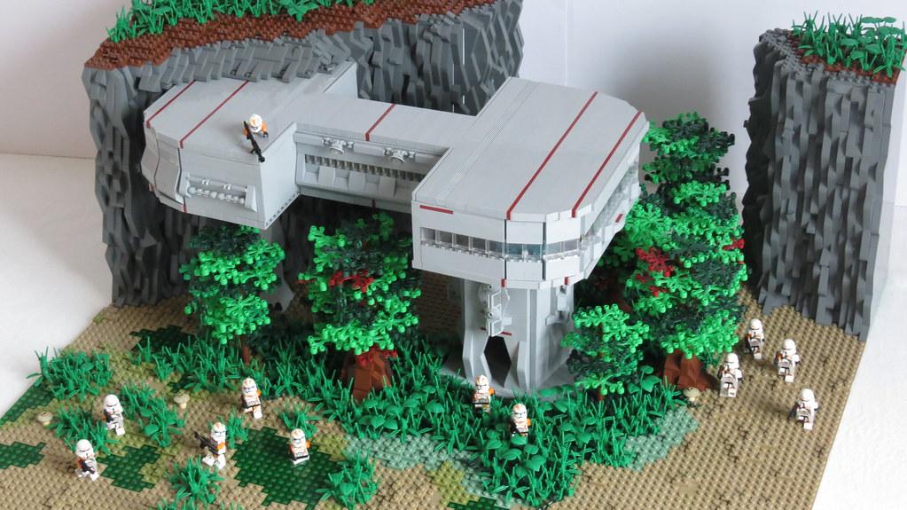 Lego Star Wars Moc On Saleucami My Lego Star Wars Moc On S Flickr
