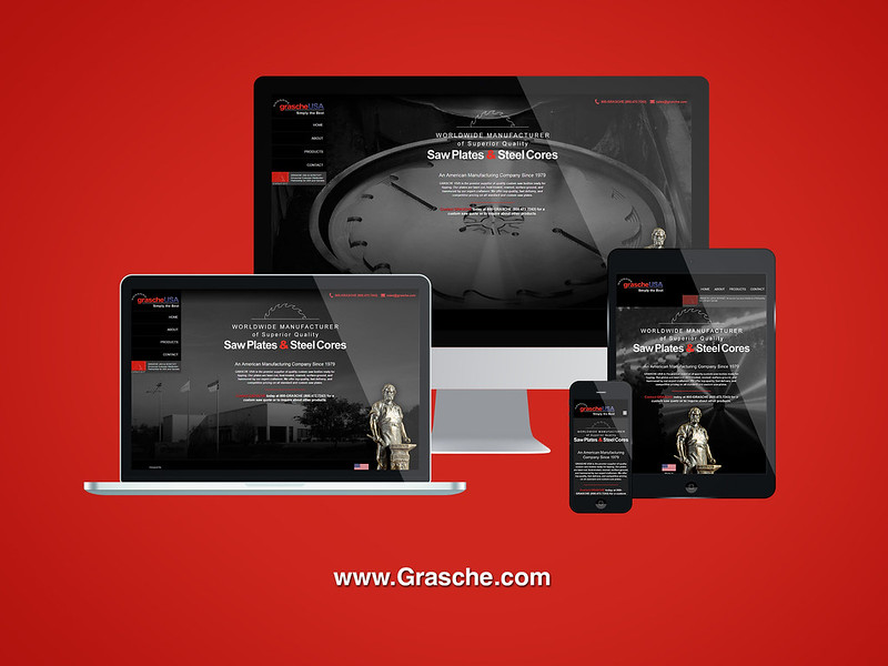 Grasche USA Responsive Website Design