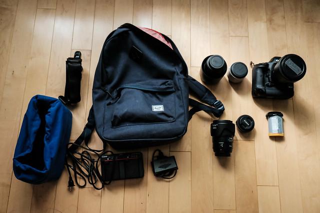 Updated Camera Bag  / travel kit