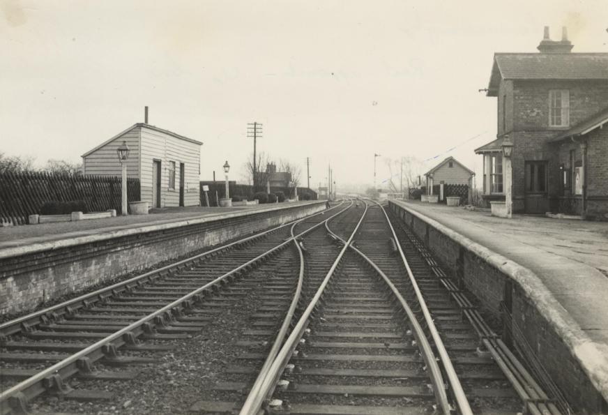 Londesborough Railway Station 1935 (archive ref DDX1230-2)