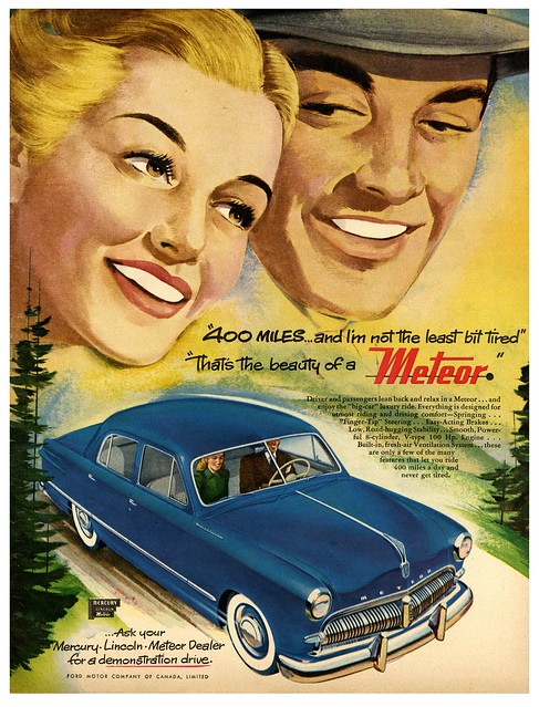 Lean Back and Relax in a 1950 Meteor