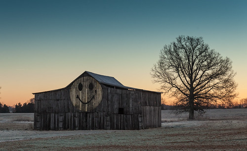 morning cold face barn sunrise frost tennessee smiley tobacco orlinda